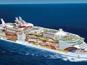 Choáng với siêu du thuyền lớn nhất thế giới chở gần 8.500 người