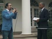 Obama gợi ý ca sĩ Lin-Manuel Miranda hát rap