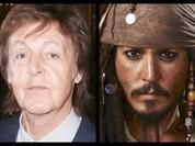 """Cựu thành viên The Beatles hoá """"Cướp biển Caribbean"""""""