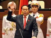 Tân Chủ tịch nước Trần Đại Quang cam kết kiên quyết bảo vệ chủ quyền