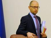 Ukraine: Thủ tướng Arseniy Yatsenyuk từ chức