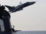 Video: Cận cảnh chuyến bay của Su-24 trên tàu khu trục USS Donald Cook