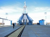 Sân bay vũ trụ dân sự đầu tiên của Nga đã hoàn thành