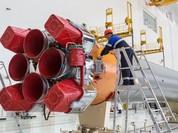 Tên lửa đã sẵn sàng trên bệ phóng của sân bay vũ trụ Vostochny