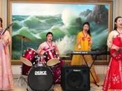 """4 cô gái Triều Tiên hoà vang """"Như có Bác Hồ trong ngày vui đại thắng"""""""