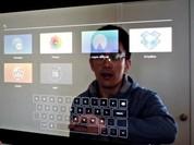 Hô biến gương soi thành... màn hình cảm ứng
