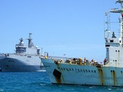 Sau chiến hạm Pháp, 'Nguyên soái Gelovani' lại cập cảng Cam Ranh