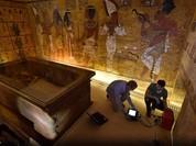 Cận cảnh căn phòng bí mật trong mộ Tutankhamun
