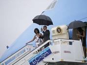 Cận cảnh chuyên cơ Air Force One của Obama