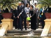 Tổng thống Mỹ đẹp ấn tượng qua góc máy phóng viên quốc tế