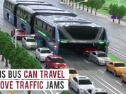 """Video: Siêu bus tương lai sẽ """"nuốt trọn"""" các phương tiện khác"""