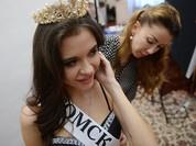 Đột nhập hậu trường phần thi bikini của nhan sắc Nga