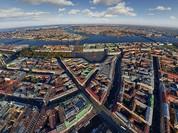 Đẹp mê hồn những thành phố nổi tiếng nhìn từ trên cao