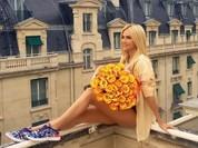 Hoa hậu Nga Lopyreva đẹp hút hồn ở EURO 2016