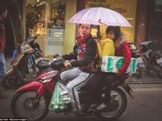 Giật mình hình ảnh phố phường Hà Nội trên báo Anh