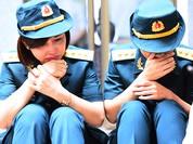 Trời tuôn mưa, người tuôn nước mắt trong tang lễ 9 liệt sĩ phi hành đoàn CASA-212