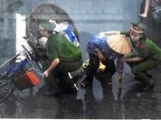 Chùm ảnh đẹp: Chiến sĩ Công an Nhân dân Việt Nam trong lòng dân