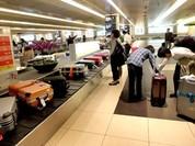 Video: Hành trình bí ẩn của chiếc valy lên máy bay