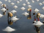 Cánh đồng muối Việt: Nơi ngắm hoàng hôn đẹp nhất thế giới