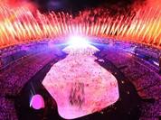 Video: Rực rỡ âm thanh, ánh sáng tại lễ Khai mạc Olympic Rio 2016