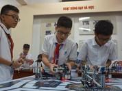 """Hơn 500 """"kỹ sư robot"""" nhí trổ tài lắp ghép, lập trình robot"""