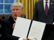 """Thẩm phán Mỹ """"siết"""" lại sắc lệnh về thị thực của tân Tổng thống"""