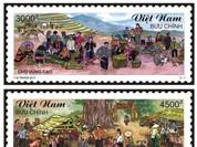 """Bộ tem """"Chợ quê Việt Nam"""" giới thiệu tới quốc tế hình ảnh của Việt Nam"""