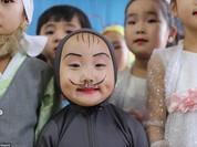 Những hình ảnh hiếm hoi về cuộc sống yên bình của trẻ em Triều Tiên