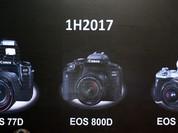 Canon ra mắt bộ ba máy ảnh không gương lật nhiều tiện ích