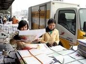 Giá cước tối đa chuyển trả kết quả giải quyết TTHC qua bưu điện là 97.000 đồng/lượt
