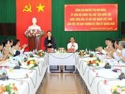 Chủ tịch Quốc hội: Quảng Ngãi cần phát triển du lịch và kinh tế biển tương xứng tiềm năng