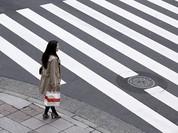 Hệ thống nhận diện khuôn mặt khi qua đường ở Thượng Hải