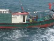 Cảnh sát Biển yêu cầu 42 tàu cá nước ngoài rời vùng biển chủ quyền Việt Nam