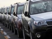 Nhập khẩu ô tô 5 tháng gần bằng cả năm 2014