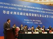Ấn Độ đứng sau Trung Quốc về quyền biểu quyết tại AIIB