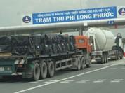 Đường cao tốc sẽ từ chối phục vụ xe chở quá tải
