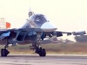 Su-34 Nga lần đầu tiên tham chiến, nhưng không ném được bom ở Syria