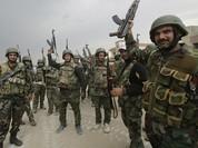 Lính Iran đến Syria tham chiến cùng quân Tổng thống Assad