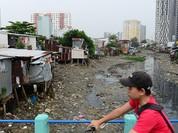TP.HCM: 54/110 kênh, sông rạch bị lấn chiếm