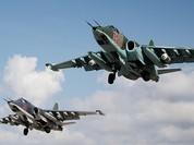 Chiến đấu cơ Nga san phẳng căn cứ ngầm của IS ở Syria
