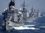 Hạm đội Nhật trình diễn sức mạnh quân sự