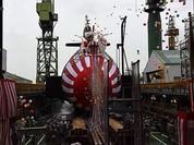 Nhật Bản hạ thủy tàu ngầm phi hạt nhân lớp Soryu thứ 8