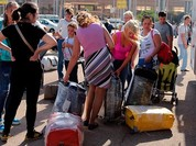 80.000 du khách Nga rời Ai Cập về nước không được mang theo hành lý
