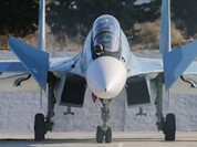 F-16 'không có cửa' khi đối đầu Su-30SM ở Syria