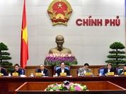 Nghị quyết phiên họp Chính phủ thường kỳ tháng 12/2015