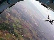 Tiêm kích Syria lần đầu tham gia hộ tống máy bay Nga