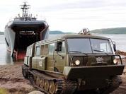 Clip xe vận chuyển địa hình Ruslan dành cho Bắc Cực do Nga chế tạo