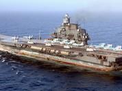 Clip tàu sân bay Trung Quốc thua xa tàu sân bay Nga