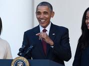 Ông Obama không dám phát biểu khi con tốt nghiệp vì sợ...sẽ khóc
