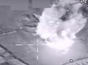 Mỹ công bố 2 video đánh phá cơ sở lọc dầu IS